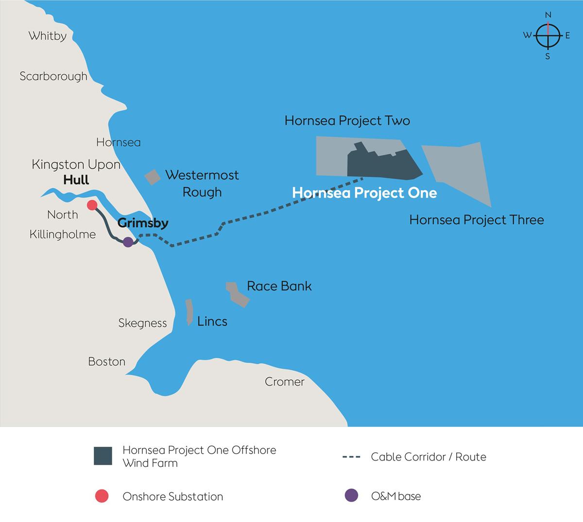 世界 最大 の 洋上 風力 発電 所 は どこに ある