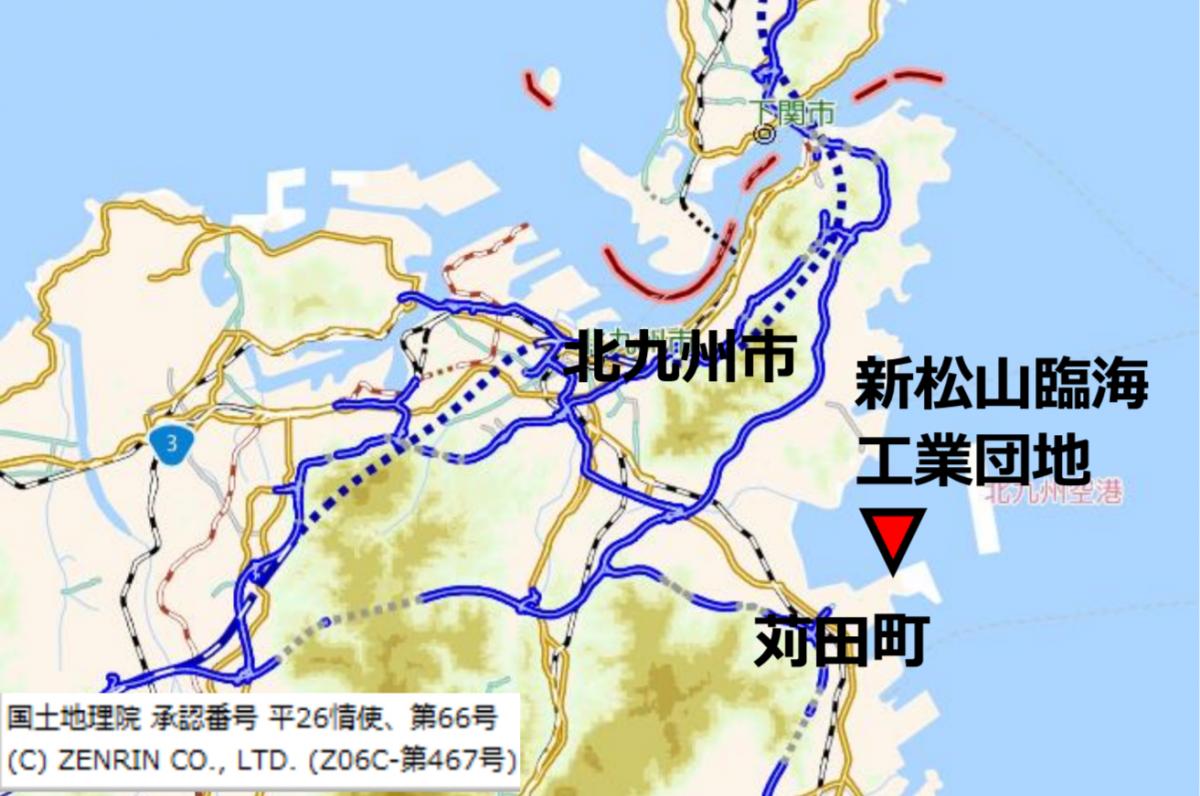 図 「かんだ発電所」の建設予定地